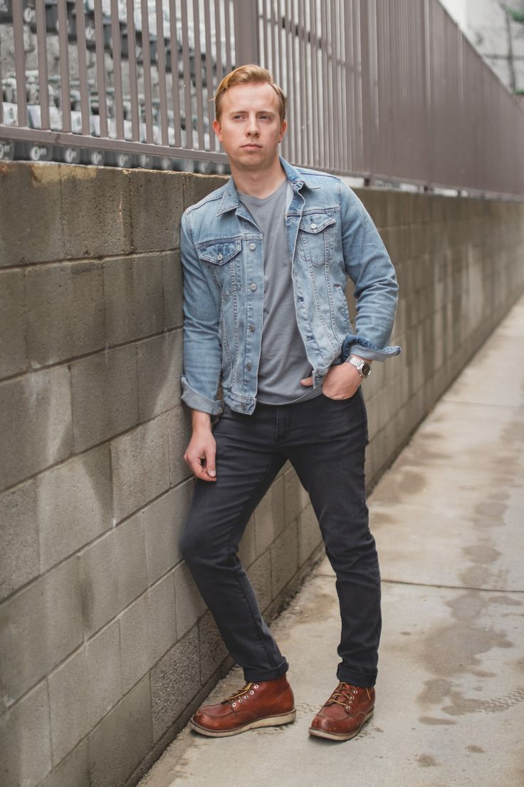 Basically looks like this dress denim jacket converse example - The Essentials Gray Denim 6 Complete Outfits That Prove It Will Change Your Wardrobe 50 Image Inspiration Album