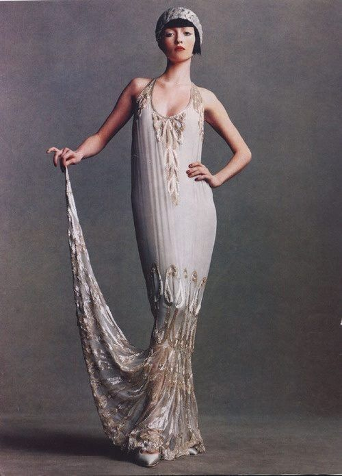 flapper dress1920 S, Wedding Dressses, Flappers Dresses, Fashion ...