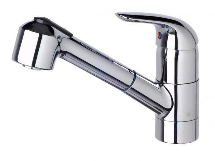 Porcher Saga Pull Out Sink Mixer $337