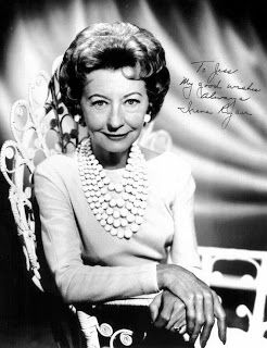 Guess who this glamorous woman turned out to be? Irene Ryan, AKA Granny Clampett