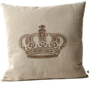 Linen Crown Pillow French Flea Market Style Www Crownchic Com