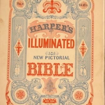 1846 Harper S Illuminated Bible Widely Regarded As The