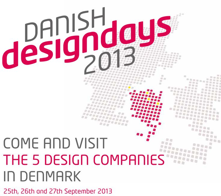 Cane-line and 4 other Danish Design companies invites to Danish Design Days 2013 #DDD13 http://www.danishdesigndays.dk/sign-up/