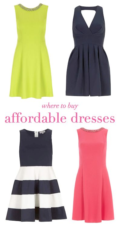 WHERE TO BUY AFFORDABLE DRESSES