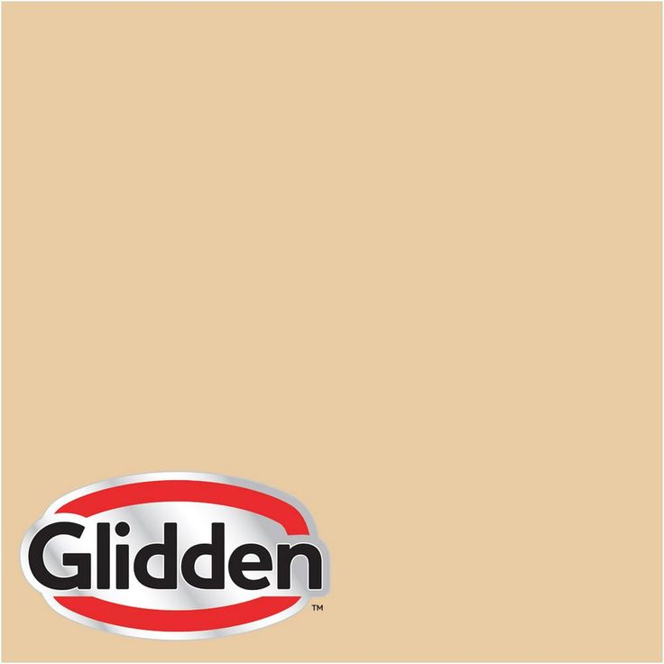 Glidden Premium 8 oz. #HDGY10D Golden Bamboo Semi-Gloss Interior Paint Sample
