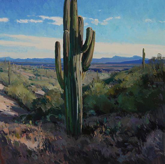 Desert Icon by Josh Elliott Oil ~ 16 x 16