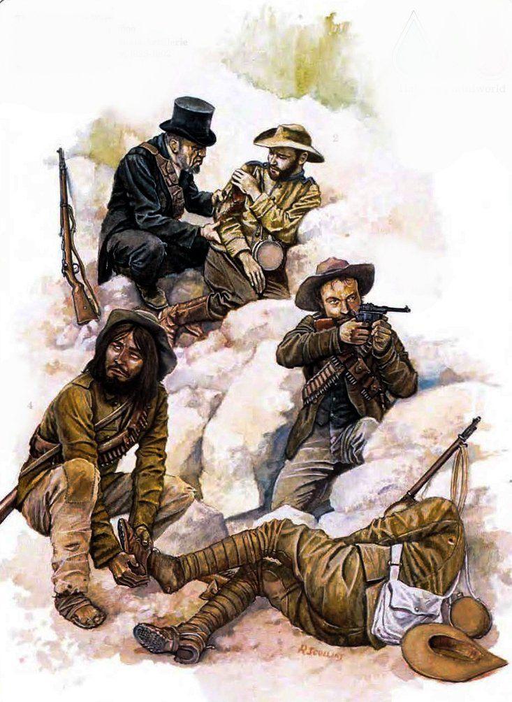 Boer troops