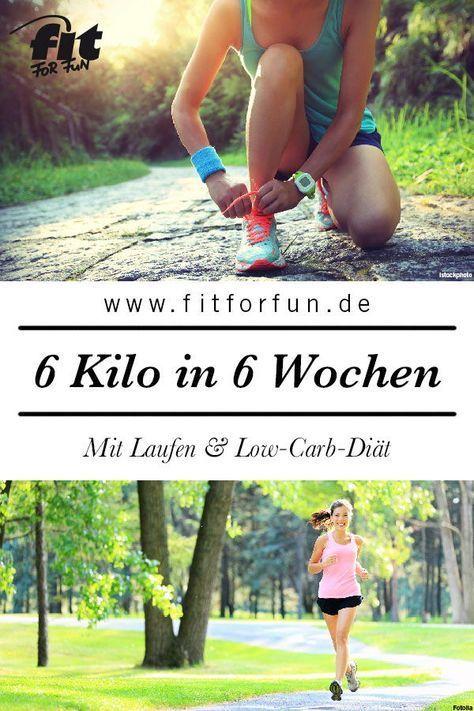 Laufen und Low-Carb: 6 Kilo in 6 Wochen