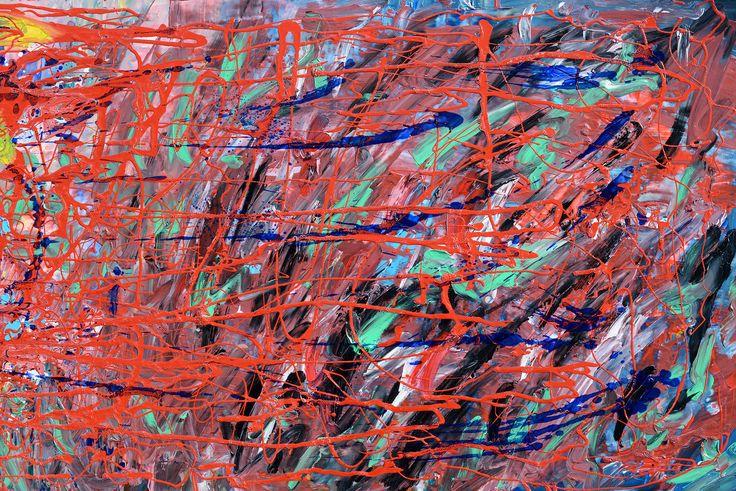 Renk Çatışması (Clash of Colors) by Kadir Kaplan Ahşap Duralit üzerine Yağlı Boya / Oil on Hardboard 65cm x 44cm 2.000₺ / 575$  #gallerymak #sanat #soyut #soyutresim #disavurum #ekspresyonist #resim #tablo #ig_sanat #gununfotografi #abstract #abstractart #abstractpainting #abstractexpressionism #abstracto #artgallery #painting #oilpainting #artlovers #artcollectors #expressionism #arte #contemporaryart