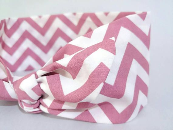 Check out this item in my Etsy shop https://www.etsy.com/listing/532906978/dusty-pink-top-knot-headband-chevron