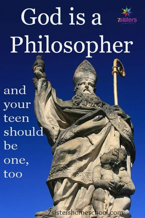Excessive Faculty Philosophy – God Is a Thinker and Your Teen Ought to Be One, Too