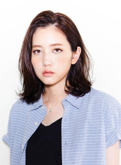 手ぐしで決まる☆お洒落ミディアムヘア 【MAKE'S】 http://beautynavi.woman.excite.co.jp/salon/25799?pint ≪ #mediumhair #mediumstyle #mediumhairstyle #hairstyle・ミディアム・ヘアスタイル・髪形・髪型≫