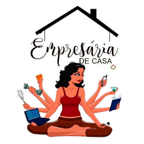 Logotipo criado para a blogueira Empresária de Casa