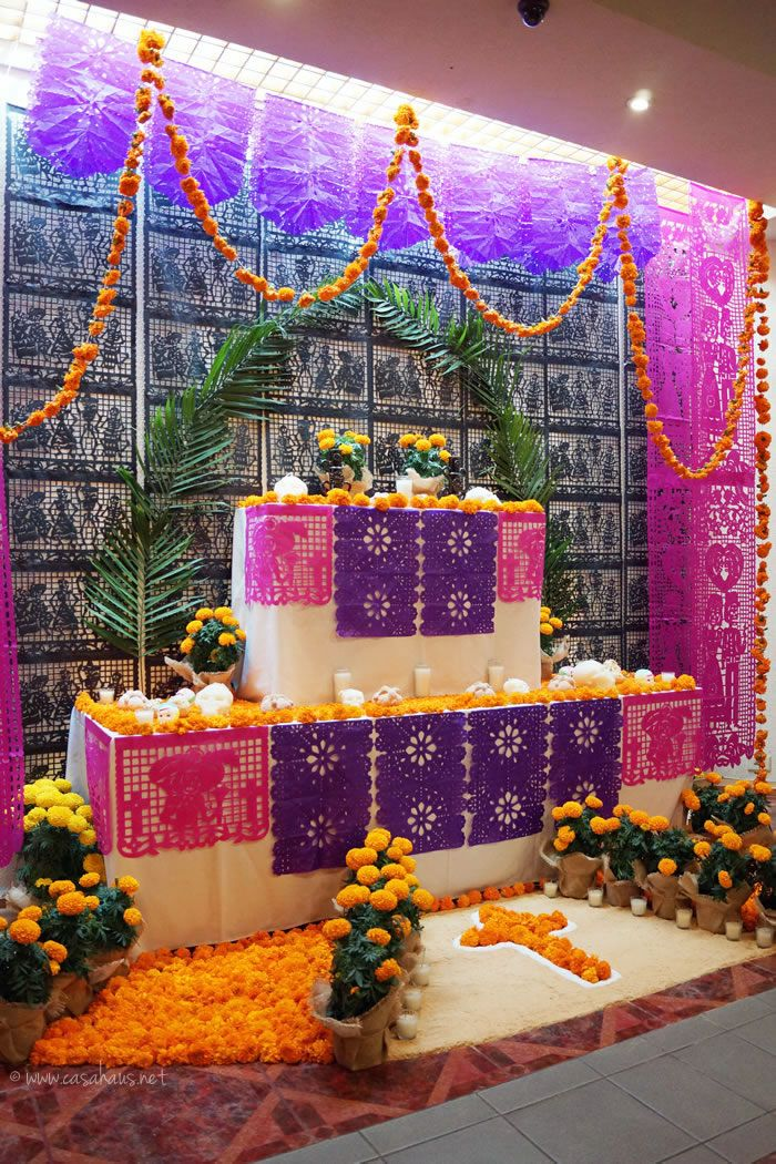 14 best day of the dead altar images on pinterest altar for Decoraciones para casas