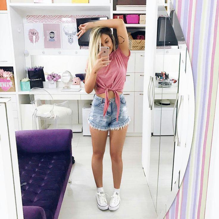 25  melhores ideias de blusas rosa no pinterest
