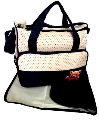 Front Pocket Medium Nappy Bag @  R239.00 Weight: 0.82 kg  Dimensions: 37.00 x 14.50 x 28.50cm  Features: Inside Zip Pocket, Twin Carry Handle, Adjustable Shoulder Strap, Side Bottle Pouches, Matching Nappy Changer, Material: Micro Fibre  Available Colours: Pink & Brown, Blue & Brown, Green & Brown, Orange & Brown  Buy now online: https://www.luggageladies.com/index.php?route=product/product&product_id=335  #LuggageLadies #Maternity #NappyBag #ValueForMoney