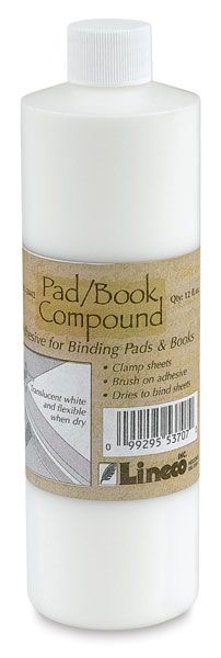 Lineco Pad Compound - for making your own notepads! Still have some of my gift card left... must get.