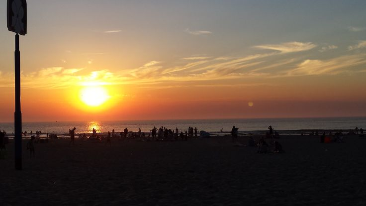 Picknick op het Scheveninger strand, augustus 2016