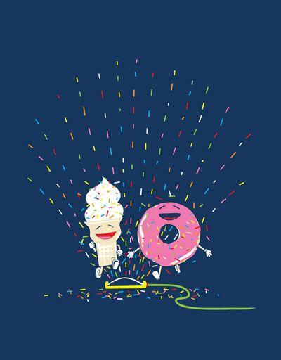 I'd like to play in this sprinkler!! Playin' in the Sprinkler by Jason Bergsieker