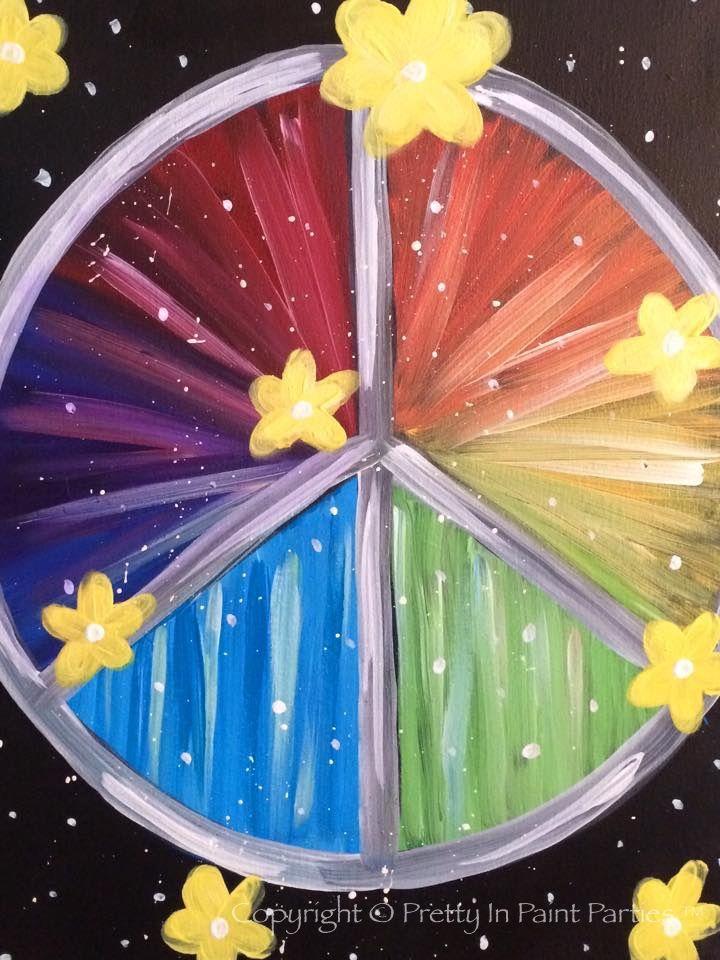 """""""Peace Out"""" Artist: Erica Bridges"""