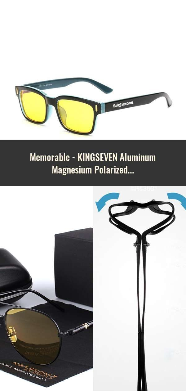 45bcc114eeca KINGSEVEN Aluminum Magnesium Polarized Sunglasses Men Driver Mirror Sun glasses  Male Fishing Female Eyewear For Men