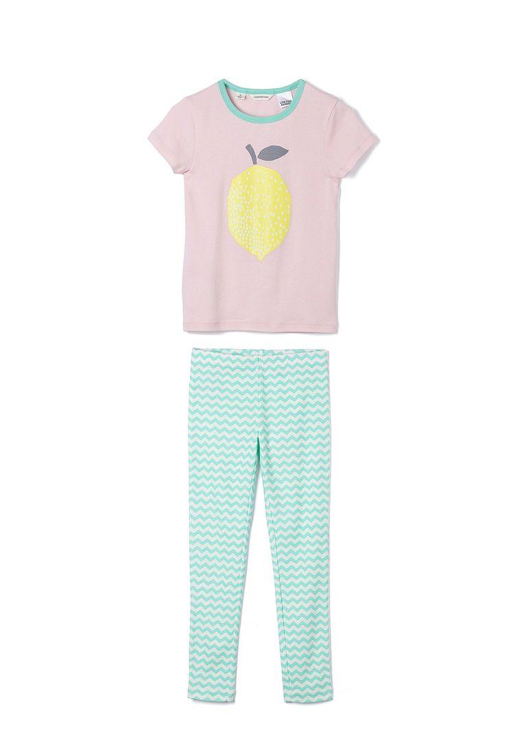 Country Road-Girl's Sleepwear Online - Fruit Pj Set
