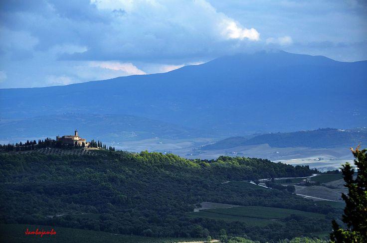 Panorama dal Castello di Monte Antico (Grosseto)