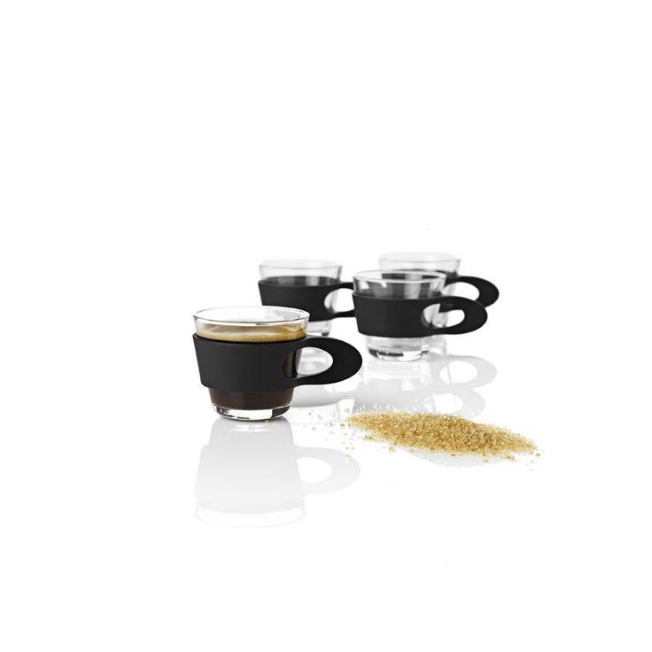 Easy Cafe -Zestaw szklanek do espresso 4 szt. - DECO Salon #cups #set #forher #gift #coffee #tea