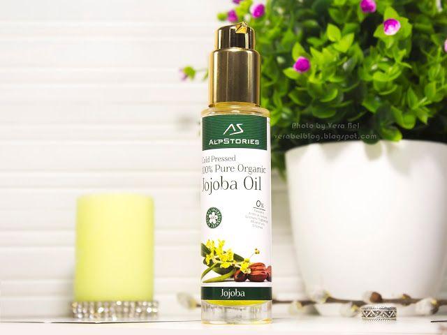 AlpStories 100% чистое органическое масло жожоба холодного отжима Pure Organic Jojoba Oil