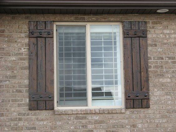 Best 25+ Rustic shutters ideas on Pinterest | Wood shutters ...