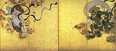 Fujinraijin-tawaraya - 琳派 - Wikipedia