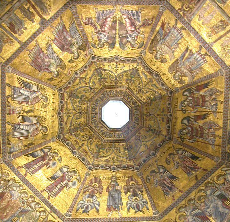 Mosaico della cupola; XIII sec.,  Battistero San Giovanni,  Firenze