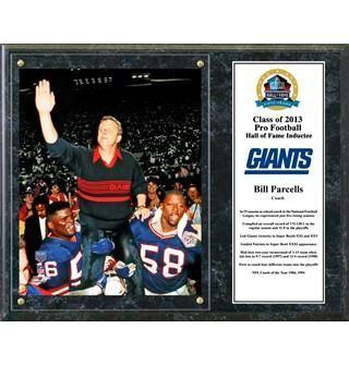 Bill Parcells plaque