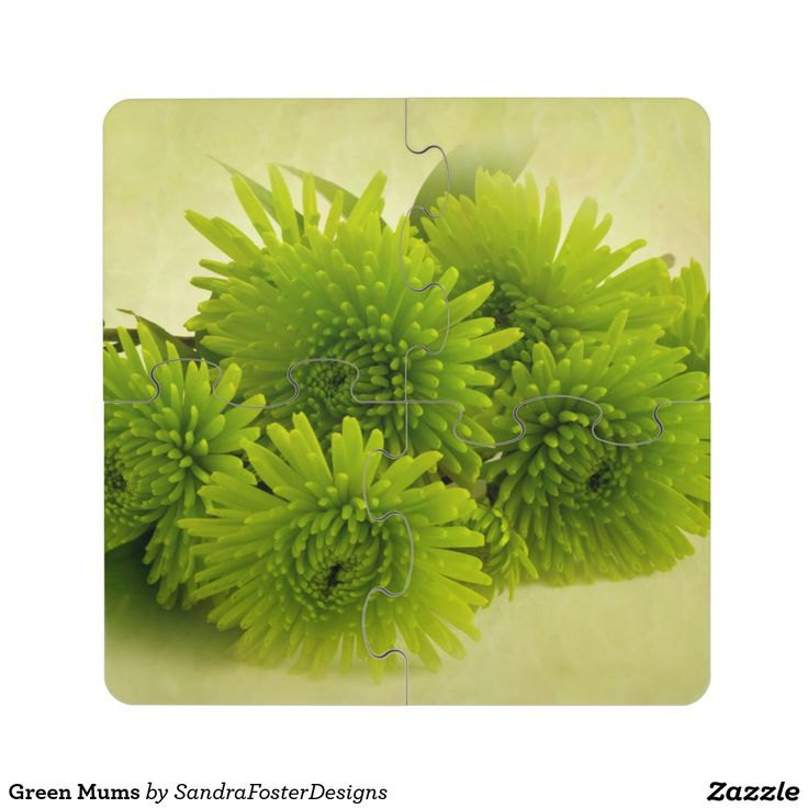 Green Mums Drink Coaster Puzzle