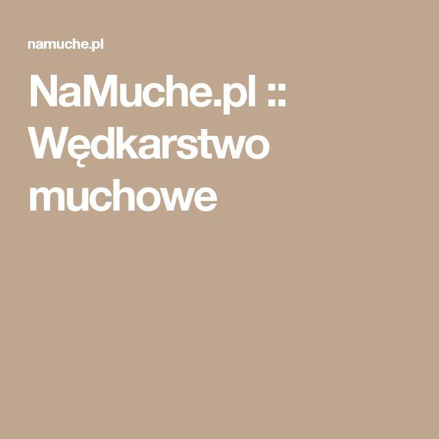 NaMuche.pl :: Wędkarstwo muchowe