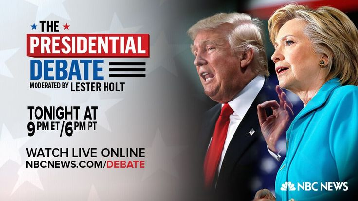The First 2016 Presidential Debate