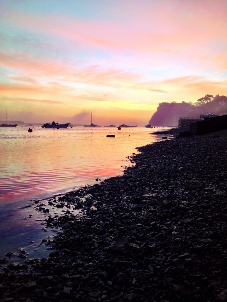 Shaldon beach, sunrise