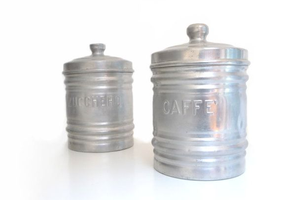 vintage italian kitchen canister set mid century pics photos kitchen canisters bistro fat chef canister