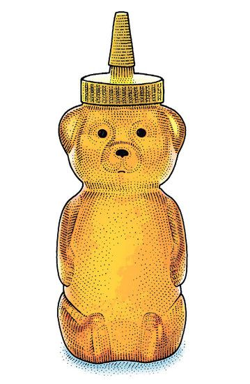 "HONEY BEAR. There's a recipe to winning an Olympic medal on the parallel bars, and the key ingredient is sticky fingers. ""Honey, Here's a Gripping Tale: How Olympians Hang On to the Bar,"" July 23, 2012. http://on.wsj.com/NGIomc"