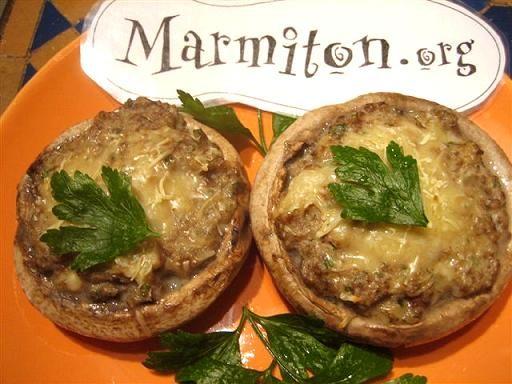 recette champignons farcis diy pinterest
