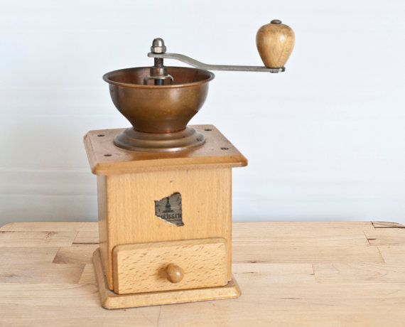 Trosser West Germany Traditional Coffee Grinder by TheWildWorld