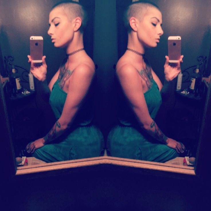 """gypsies-tramps-n-thieves: """"Bald girls do it better  """""""