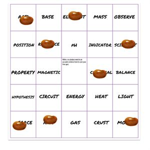 """Vocab bingo—download free blank game boards. From """"11 Vocab Review Games."""""""