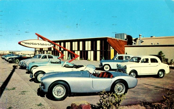 Lost Dealerships Project – import cars in the 1950s | Hemmings Daily