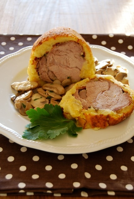 Filetto di vitello in crosta di patate