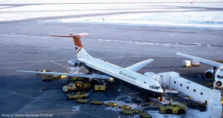 British Airways Vickers Super VC-10-1150 G-ASGA at Toronto-International, February 1979. (Photo: G. Gentle)