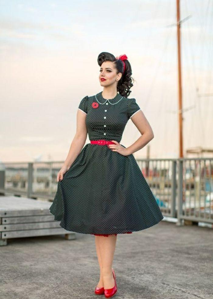 Resultat De Recherche D Images Pour Style Guinguette Colore 50er Jahre Kleidung 60er Jahre Kleider Kleider 50er