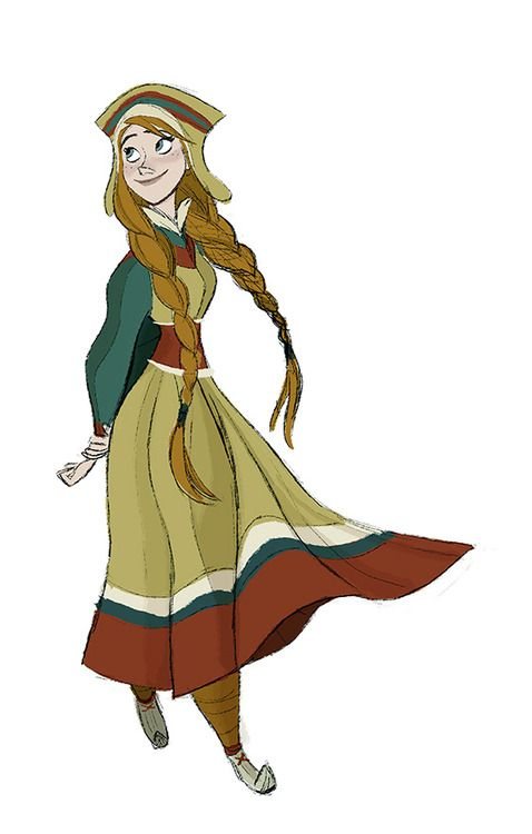 Frozen - Character Design