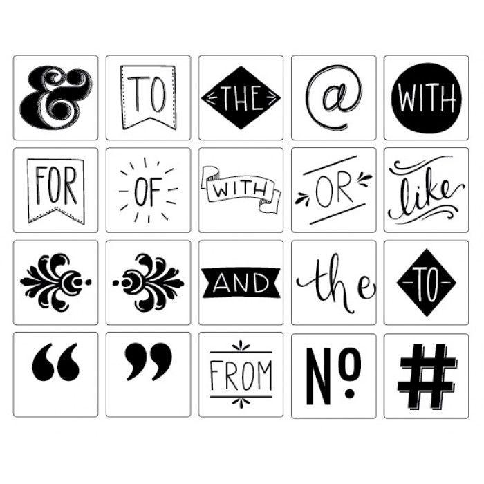 Heidi Swapp - Lightbox - Icons Basics - Lightbox - Heidi Swapp - Brands | Hey