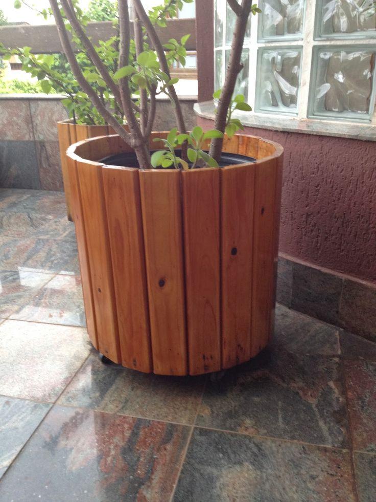 Atelier do Zero: Vasos de madeira